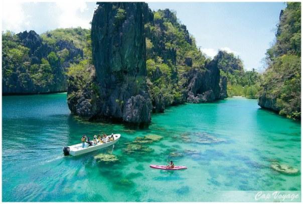 Ile de Palawan aux Philippines
