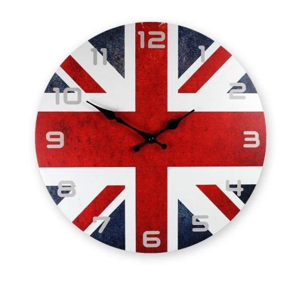 pendule-en-bois-drapeau-anglais