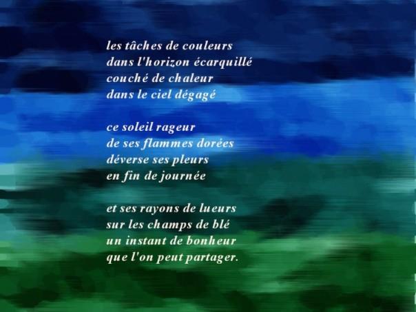 Poèmes Pour Un Soir Dété Marie Des Vignes
