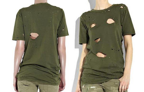 tee-shirt-balmain-trous
