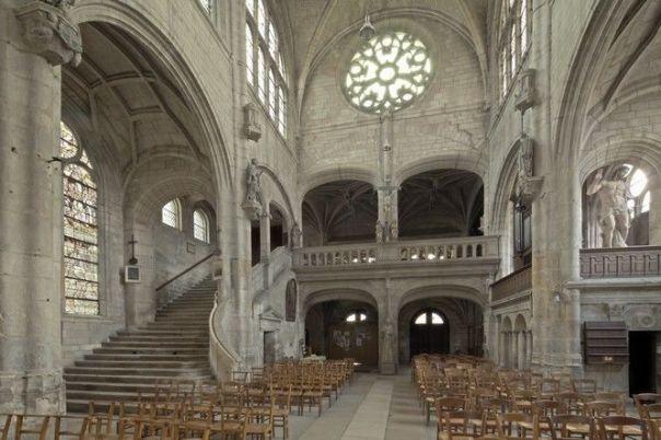 Eglise st Nicolas à Troyes
