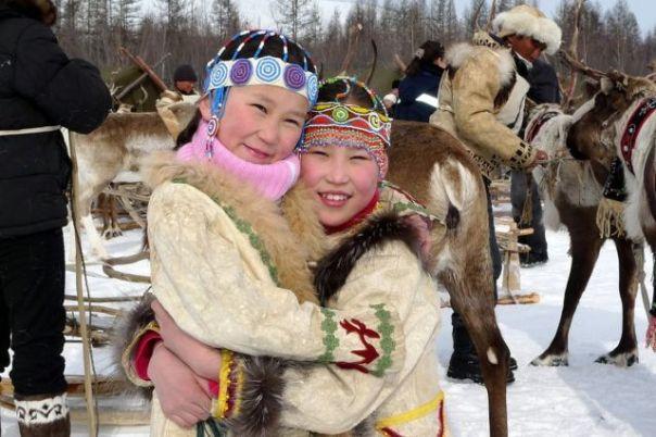 Les fêtes des éleveurs de rennes de Yakoutie - Russie