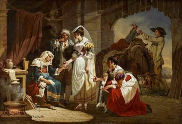 Sablet, Jacques Henri, 1749-1803; La diseuse de bonne aventure (The Fortune Teller)