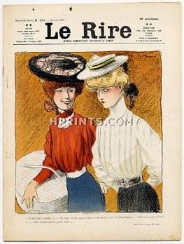 52875-le-rire-1906-n173-midinettes-georges-meunier-lucien-metivet-hprints-com