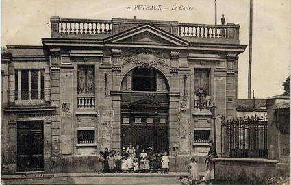 Puteaux carte postale debut XXe du vieux cinema