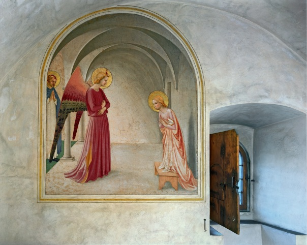 robert-polidori-annunciation-by-fra-angelico-cell-3-museum-of-san-marco-convent-florence-italy